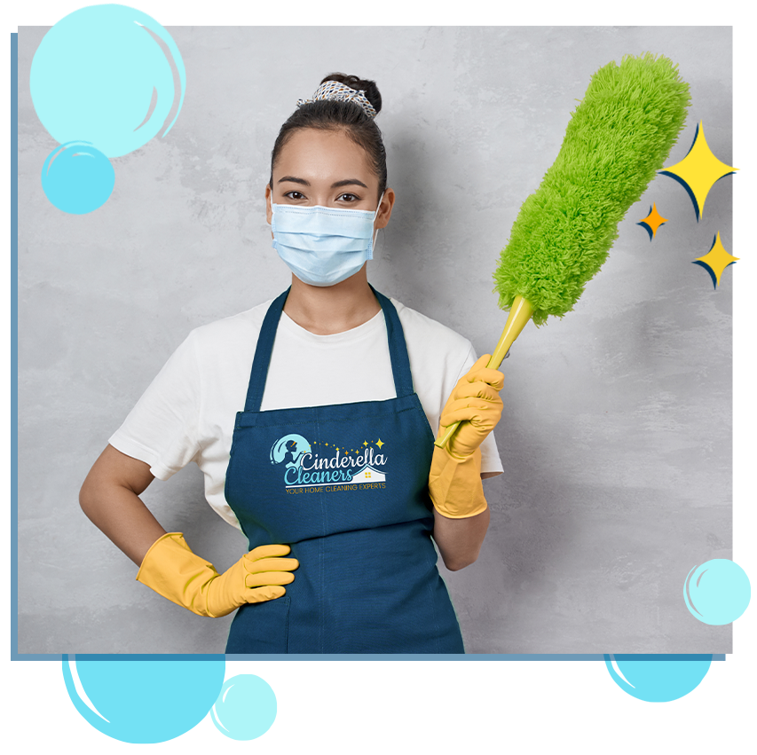 cleaning experts at Cinderella Cleaners
