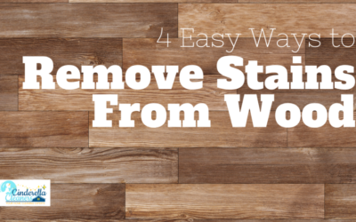 4 Easy Ways to Remove Stains From Wood